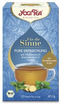 Yogi Tea® Für die Sinne Pure Erfrischung Bio