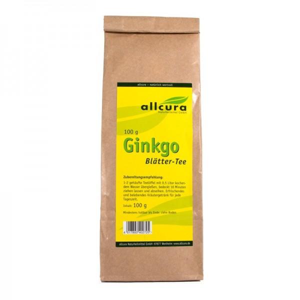 Ginkgo Blätter-Tee