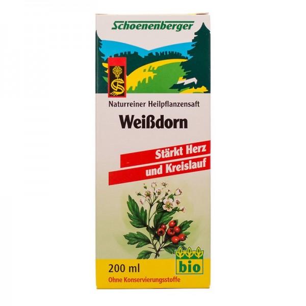 Naturreiner Heilpflanzensaft Weißdorn