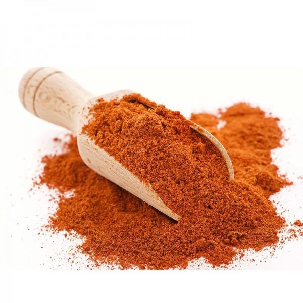 Chilis gemahlen, rot Cayennepfeffer