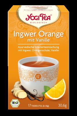 Ingwer Orange mit Vanille Ayurvedische Kräutermischung