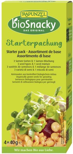 BIO Snacky Starter-Packung 4x40 g