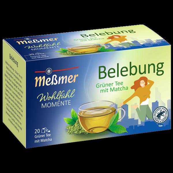Belebung-Grüner Tee mit Matcha