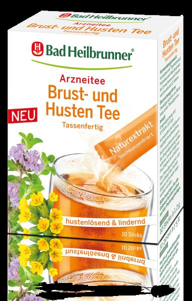 Brust- und Husten Tee