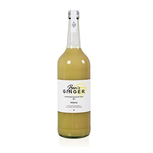 Ben's Ginger Ingwersaftkonzentrat 1,0 l