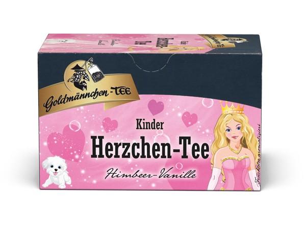 Herzchen-Tee