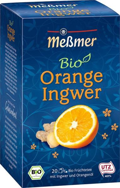 Bio Orange Ingwer, 20 Beutel