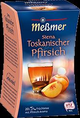 Siena Toskanischer Pfirsich, 20 Beutel