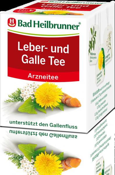 Leber- und Galle Tee