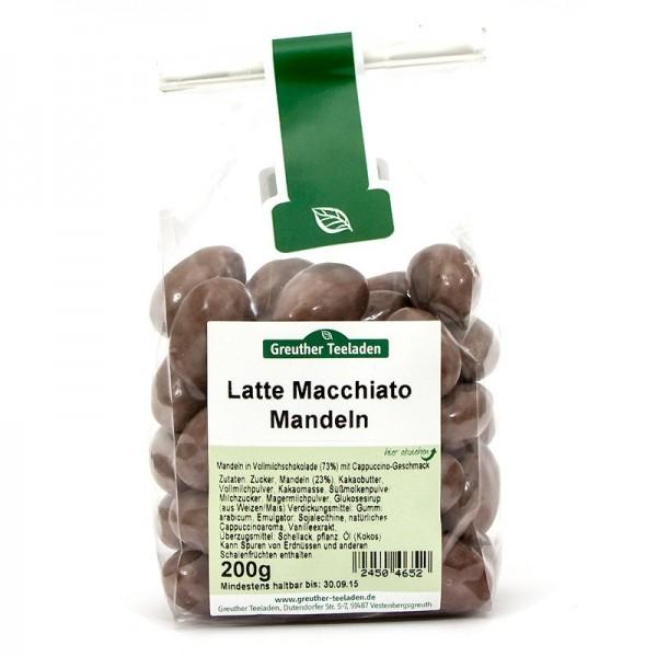 Latte Macchiato Mandeln