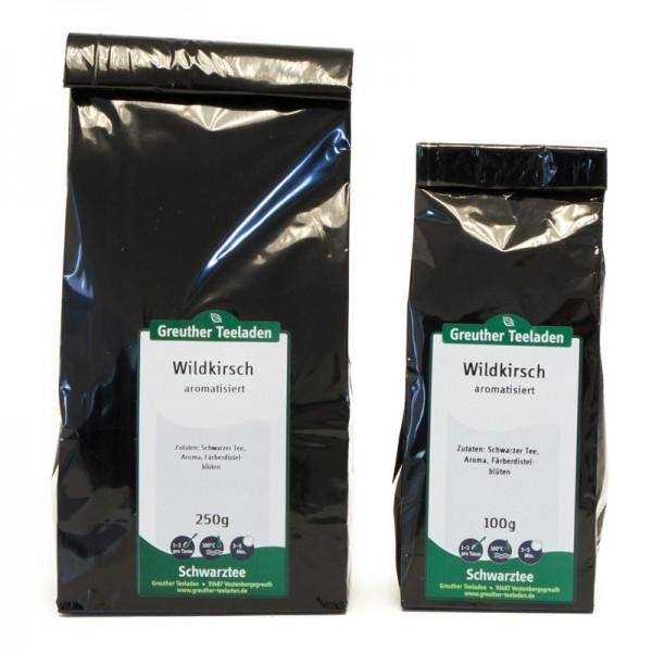 Wildkirsch Schwarzer Tee