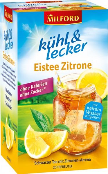 kühl & lecker Eistee Zitrone