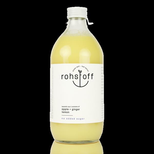 BIO Mehrfruchtsaft Apfel Ingwer Zitrone 0,5l