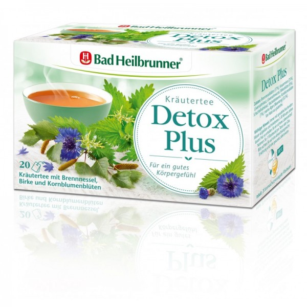 Wohlfühltee Detox Plus