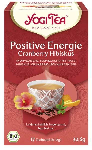 Yogi Tea® Cranberry Hibiskus