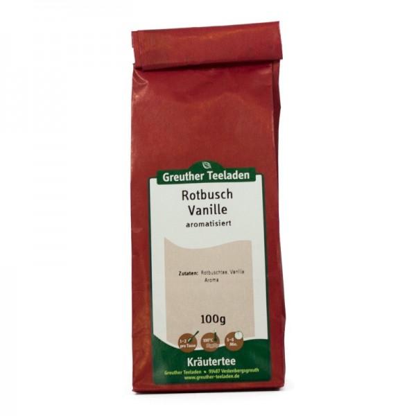 Rotbusch-Vanille