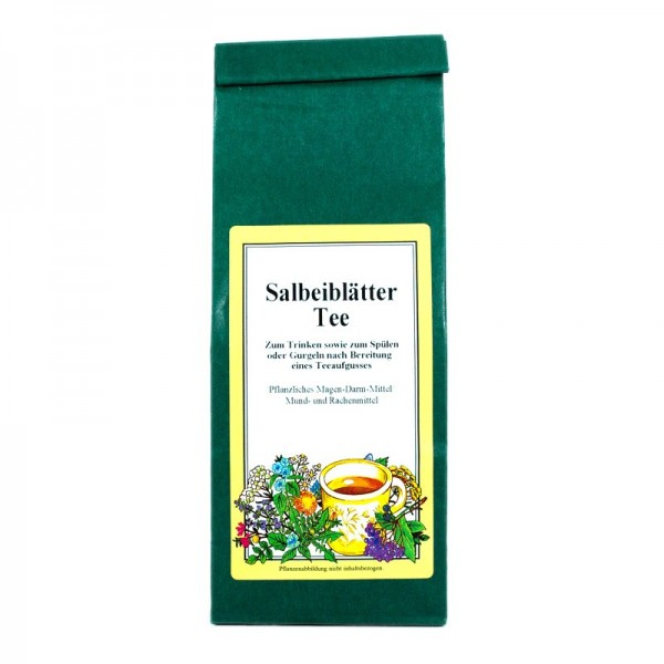 Salbeiblätter Tee