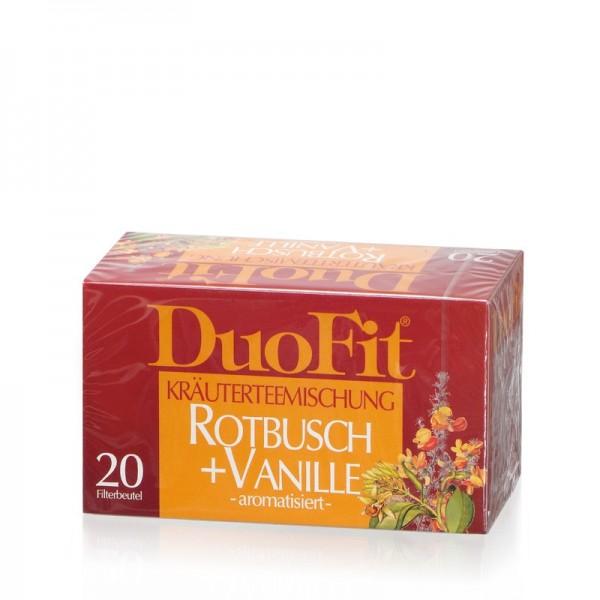 Rotbusch + Vanille
