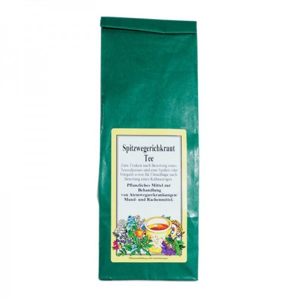 Spitzwegerichkraut-Tee