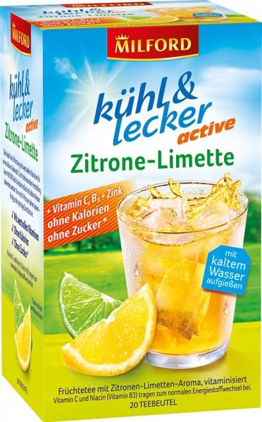 kühl & lecker   Zitrone-Limette