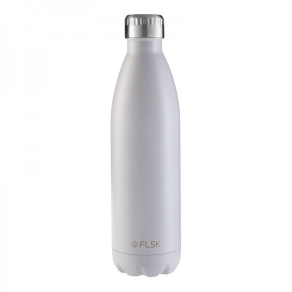 FLSK-Trinkflasche White