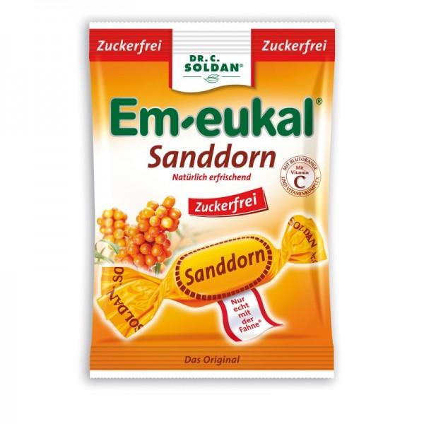 Em-eukal Sanddorn Bonbons, zuckerfrei