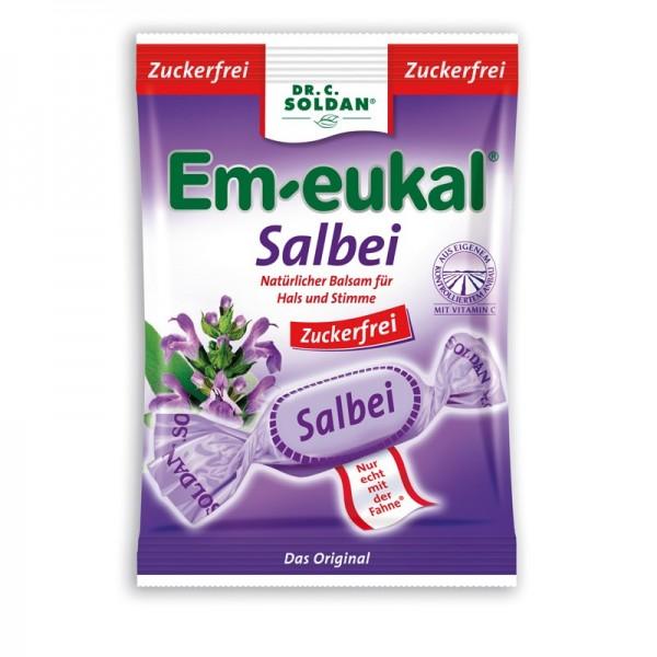 Em-eukal Salbei Bonbons, zuckerfrei
