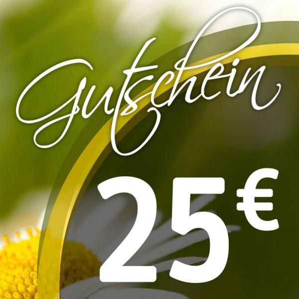 Gutschein € 25,--