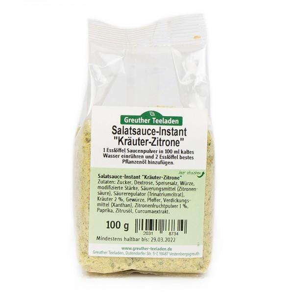 """Salatsauce-Instant """"Kräuter-Zitrone"""" 100 g"""