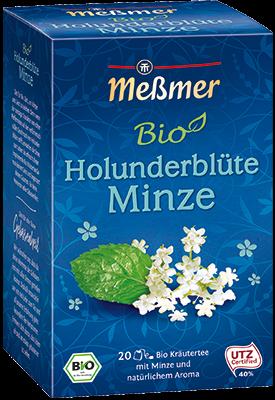 Bio Holunderblüte Minze, 20 Beutel