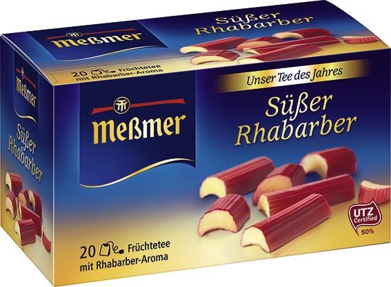 Süßer Rhabarber