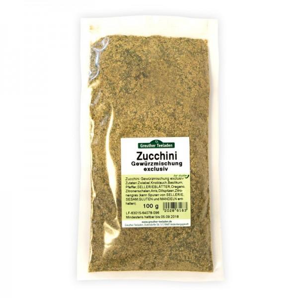 Zucchini-Gewürzmischung