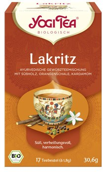 Yogi Tea Lakritz