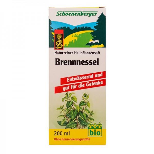 Naturreiner Heilpflanzensaft Brennnessel