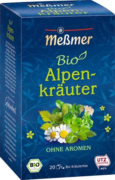 BIO Kräutertee Alpenkräuter 20 Btl.