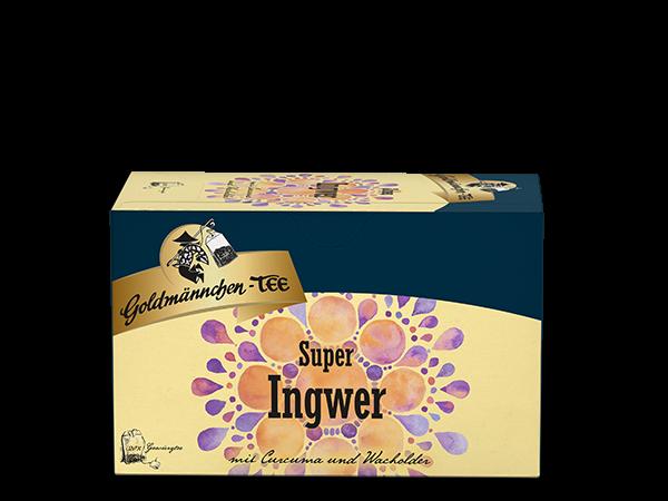 Super Ingwer mit Curcuma & Wacholder