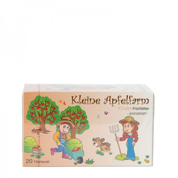 """Kinderfrüchtetee """"Kleine Apfelfarm"""" 20 Beutel"""