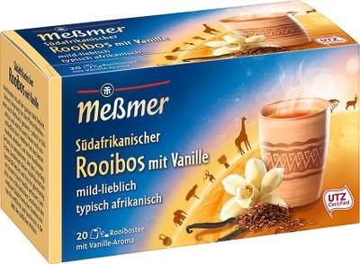 Südafrikanischer Rooibos mit Vanille