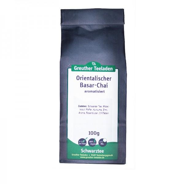 Orientalischer Basar-Chai