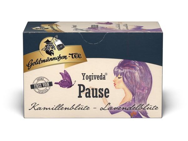 "Yogiveda ""Pause"" Kamillenblüte-Lavendelblüte"