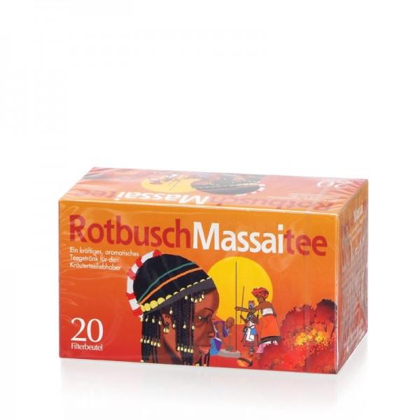 Rotbusch Massai Tee