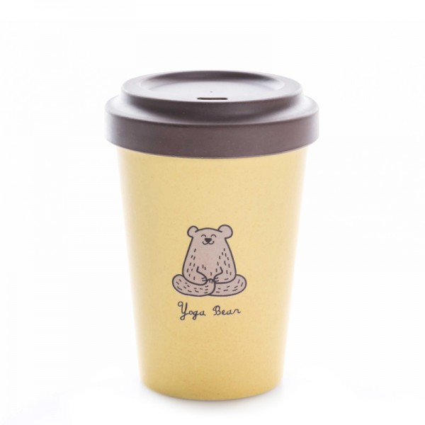 BambooCup Yoga Bear
