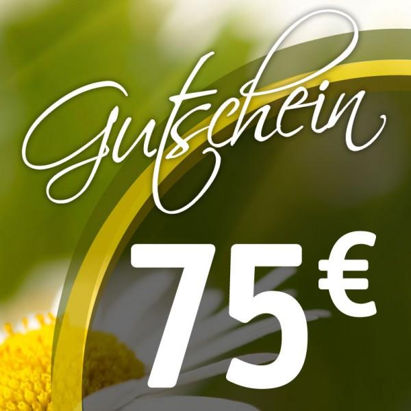 Gutschein € 75,--