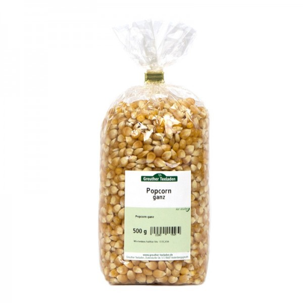 Popcorn ganz