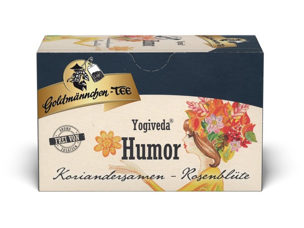 "Yogiveda ""Humor"" Koriandersamen-Rosenblüte"