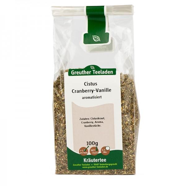 Cistus-Cranberry Vanille aromatisiert