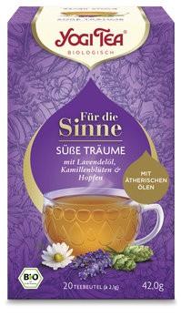 Yogi Tea® Für die Sinne Süße Träume Bio
