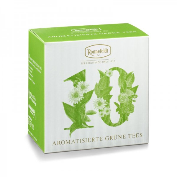 Probierbox Aromatisierte Grüne Tees