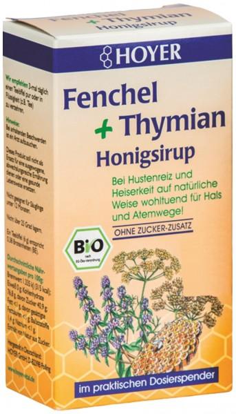 Fenchel + Thymian Honigsirup