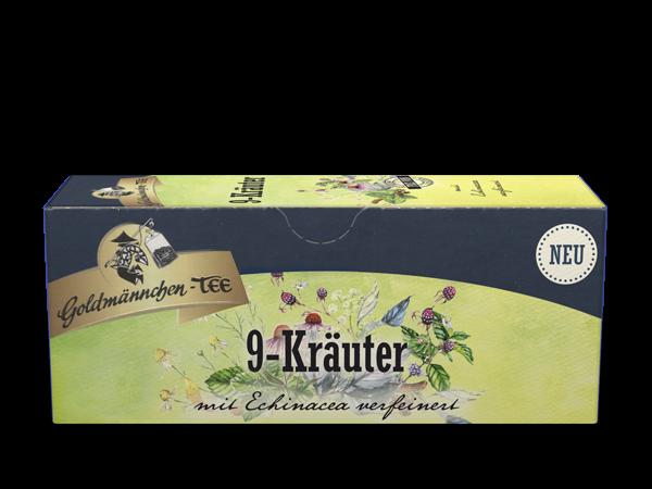 9-Kräuter Haustee mit Echinacea verfeinert